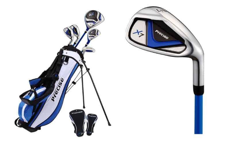 Precise X7 Junior Complete Golf Club Set for Children Kids