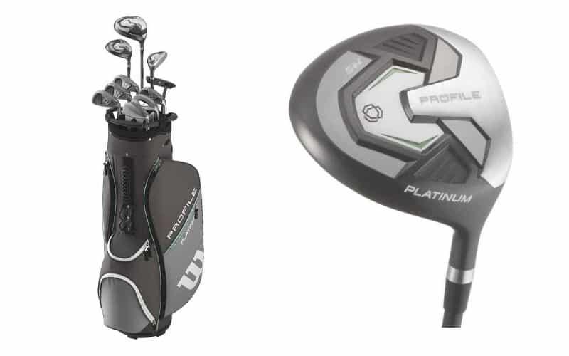 Wilson Golf Profile Platinum Package Set