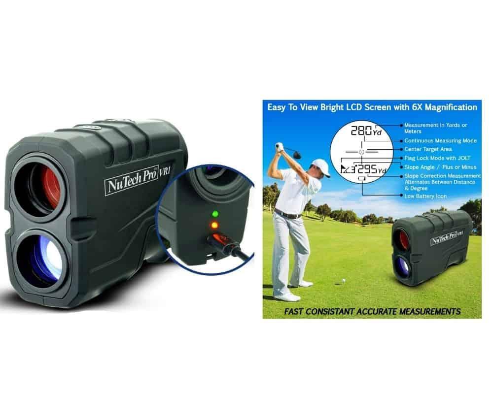 NuTech Pro VR1 Golf Rangefinder