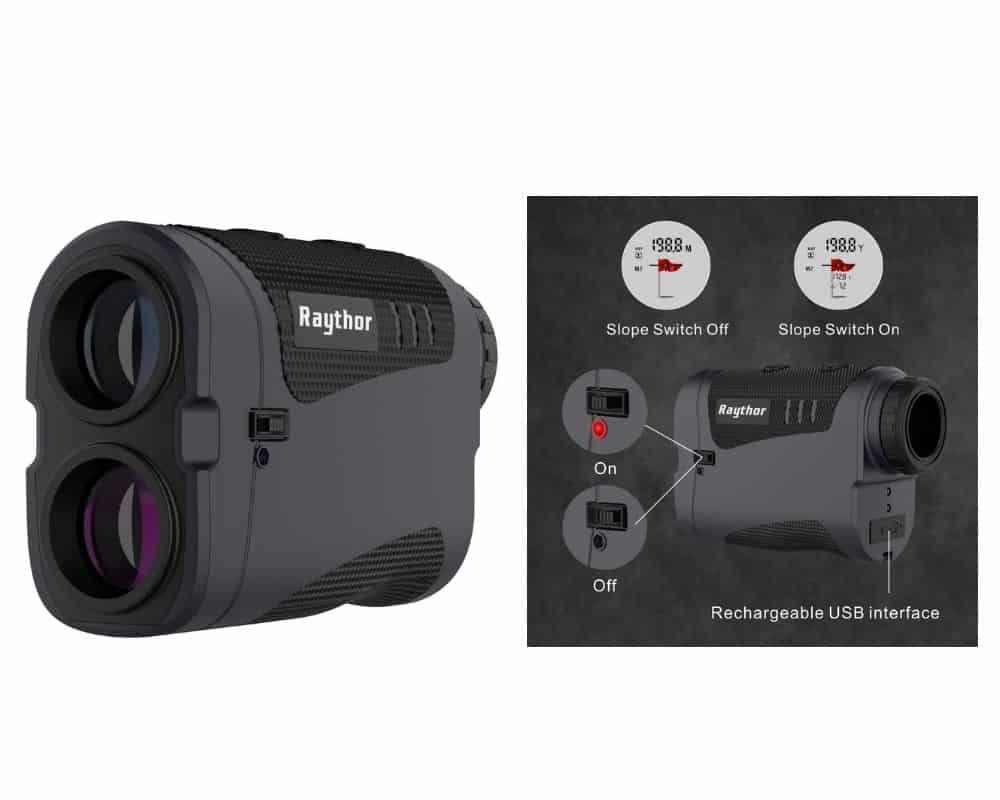 Raythor Pro GEN S2 Laser Golf Rangefinder