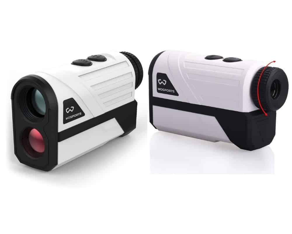 Wosports H-100AG Laser Golf Rangefinder