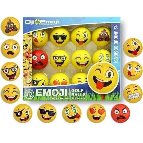 Oji-Emoji Premium Emoji Golf Balls