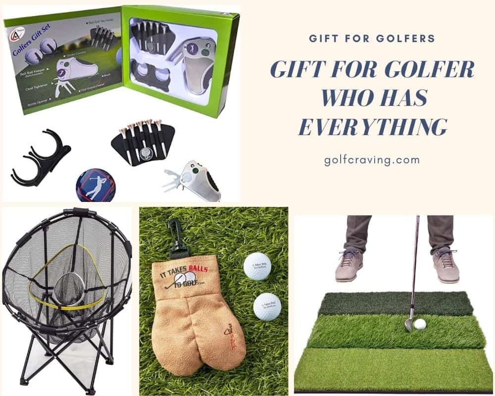 gift for golfer who has everything