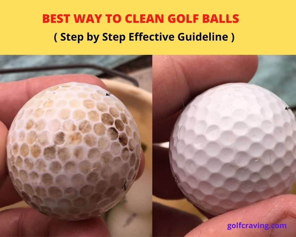 Best Way To Clean Golf Ball