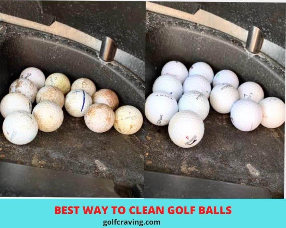 best ways to clean golf balls