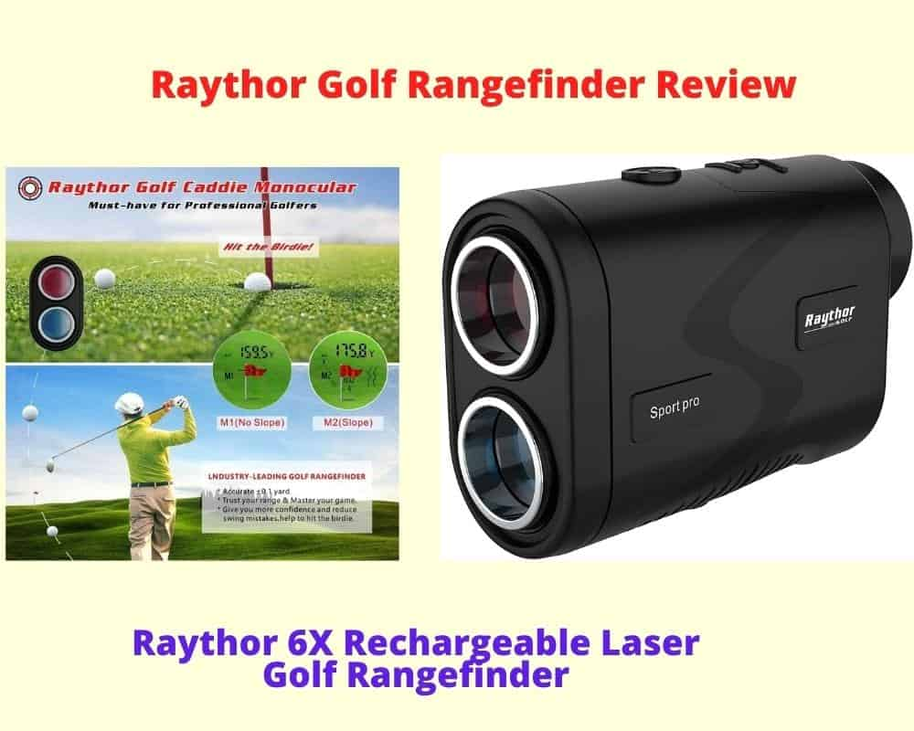 Raythor 6X Rechargeable Golf Laser Range Finder