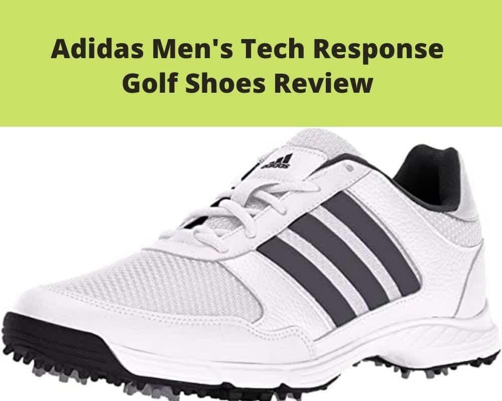 Adidas Men's Tech Response Golf Shoes Review