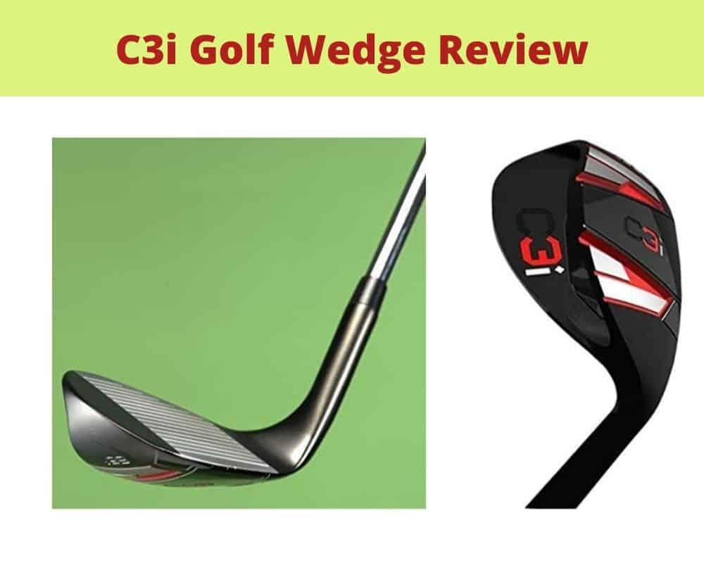 C3i Golf Wedge Review