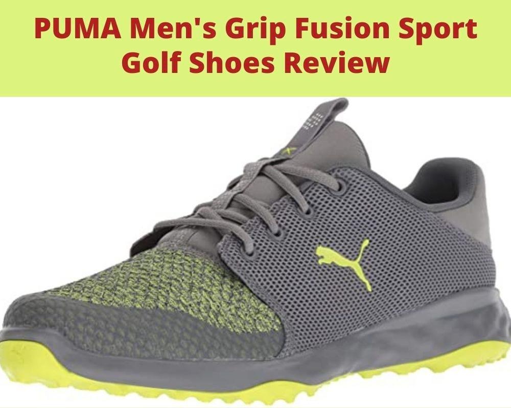 PUMA Men's Grip Fusion Sport Golf Shoes Review