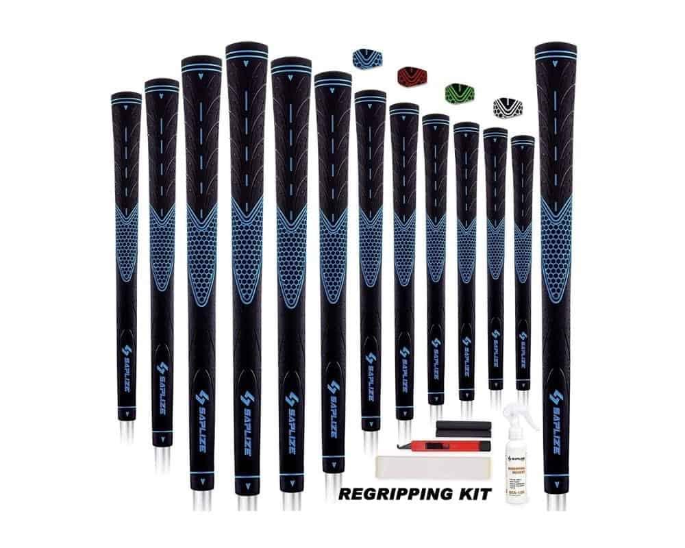 SAPLIZE Golf Grips Standard/Midsize 13 Grips