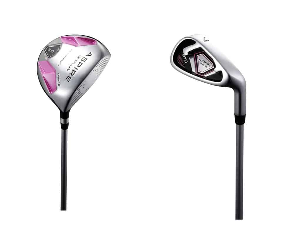 Aspire Junior Plus Complete Golf Club Set