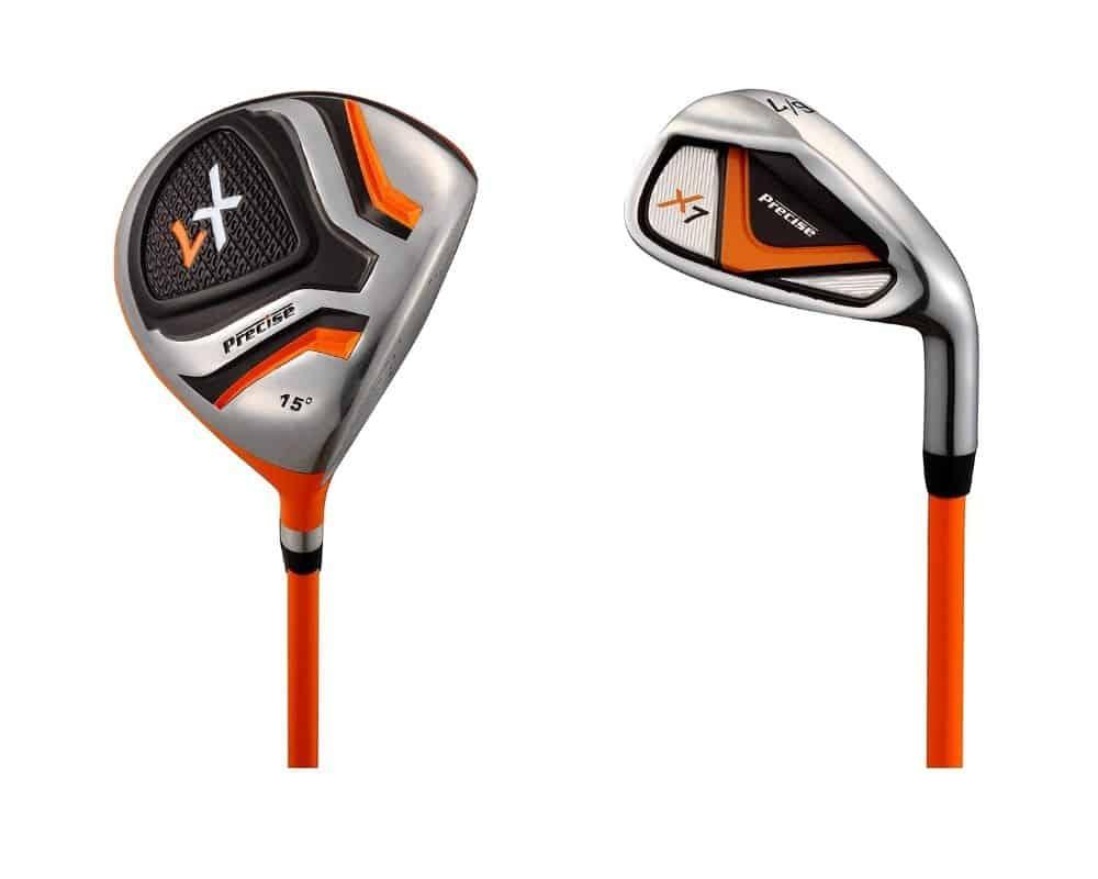 Precise X7 Junior Complete Golf Club Set
